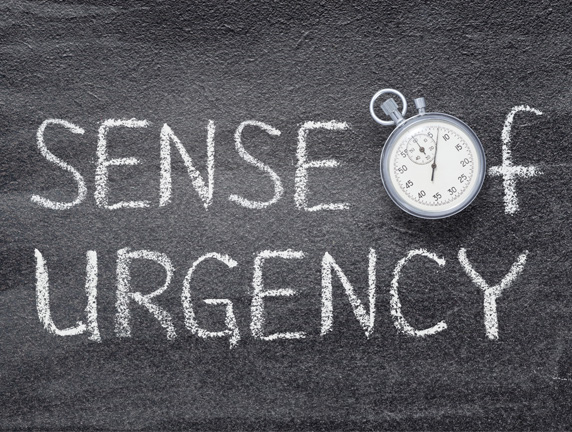 Measuring Sense of Urgency - A Leadership Dilemma