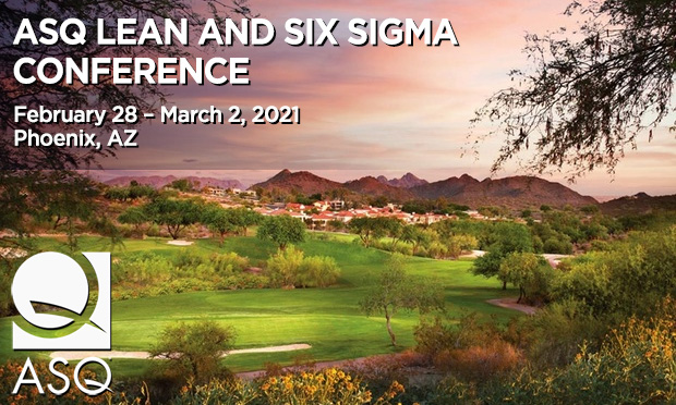 ASQ Lean & Six Sigma Conference
